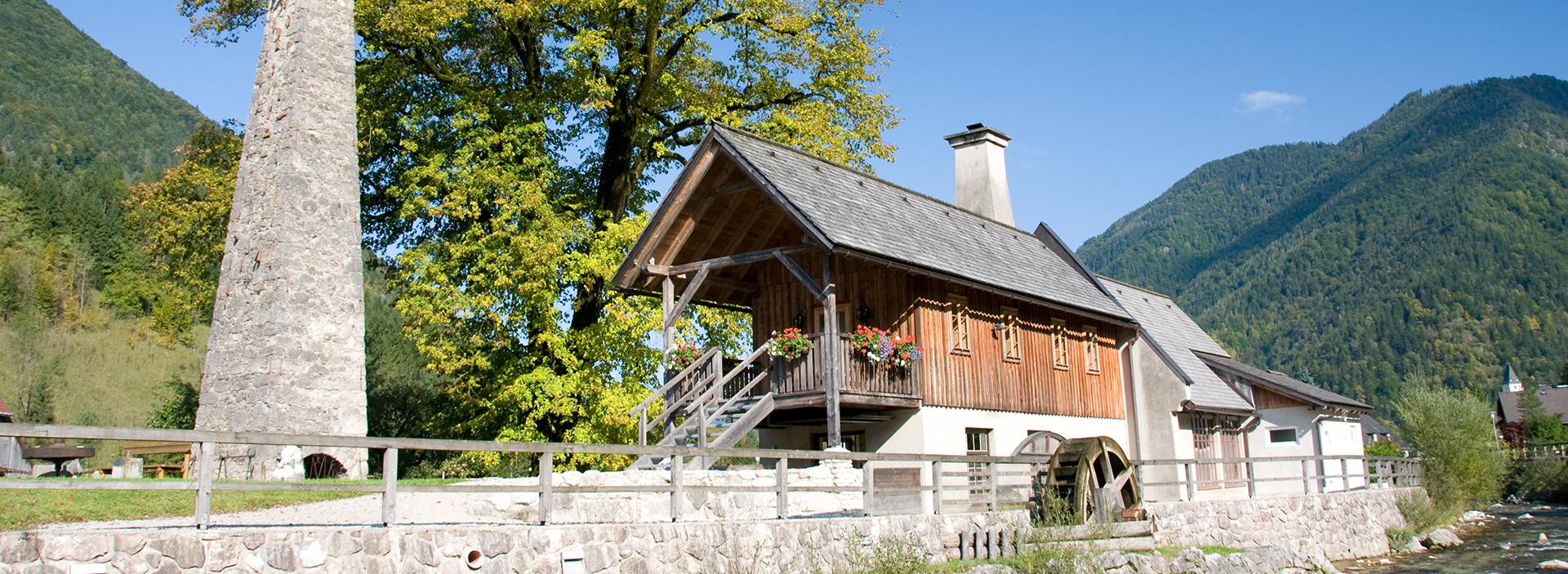 Ausflugsziel Treffenguthammer in Hollenstein/Ybbs