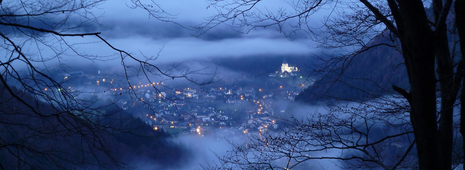 Hollenstein/Ybbs im Nebel