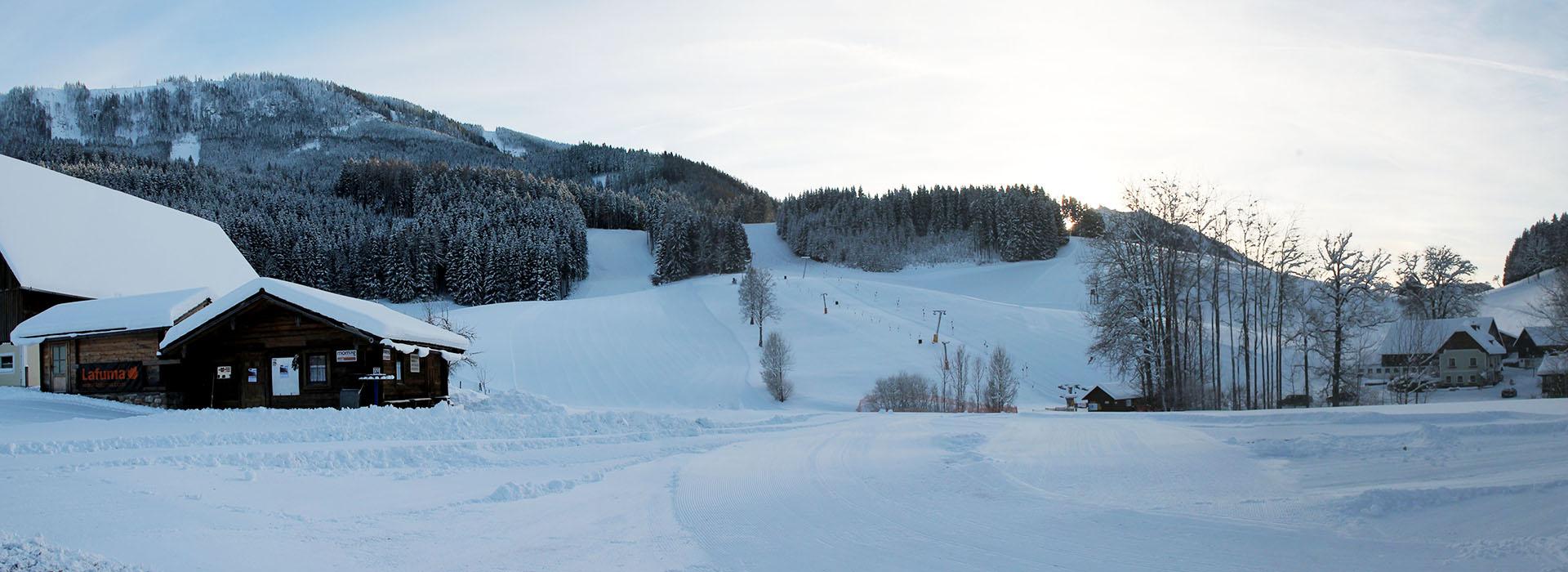 Skigebiet Königsberg in Hollenstein/Ybbs