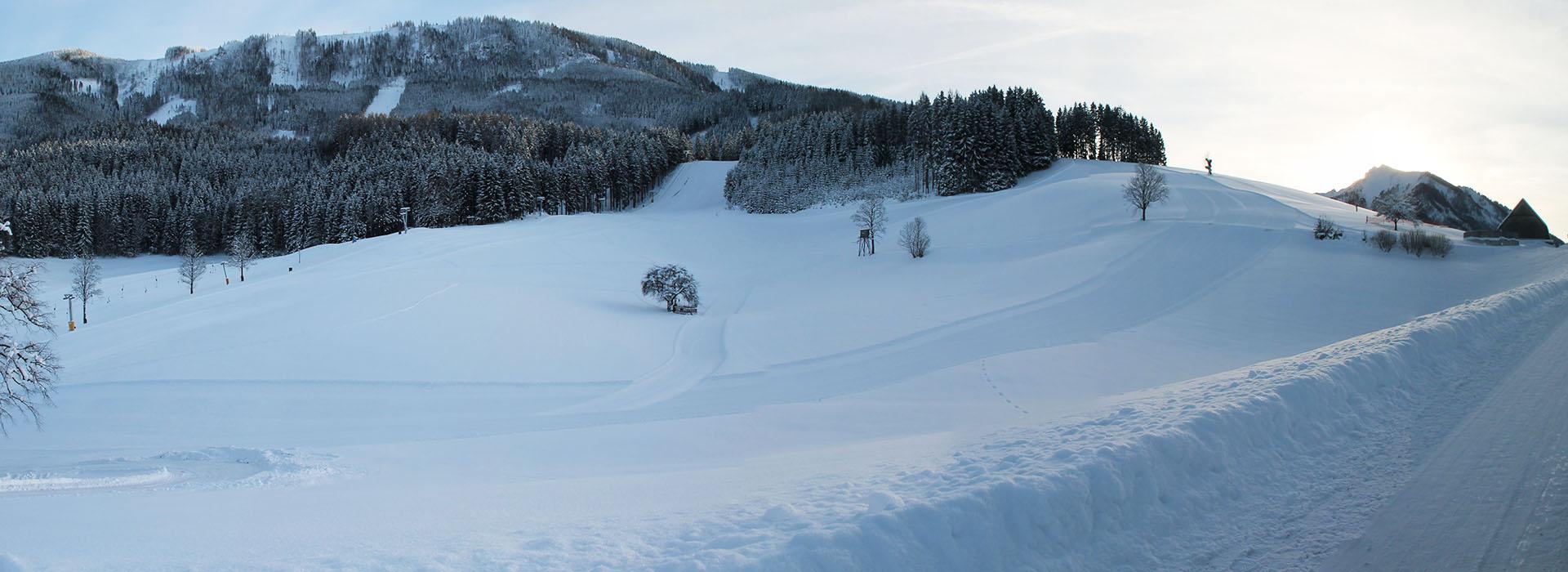 Skigebiet Königsberg in Niederösterreich