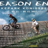 Seasons End / Bike u. E-Biketesttage verschoben –> 3.-5.11.