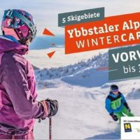 Ybbstaler Alpen WinterCard – Vorverkauf bis 31.10.2019