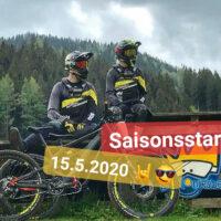 Saisonstart Bikepark Königsberg